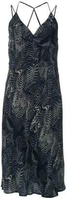 Tufi Duek abstract print dress