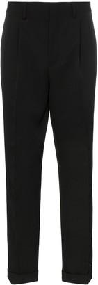 Calvin Klein side stripe tailored wool trousers