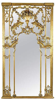 One Kings Lane Vintage Large Antique Louis XVI Gilt Mirror