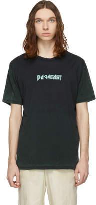 Baja East Black Baja Metal Burn Out T-Shirt
