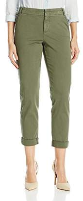 NYDJ Women's Roll Cuff Chino Pants