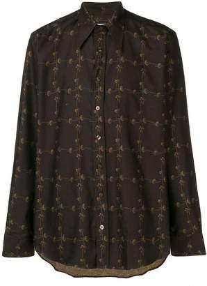 Etro daisy chain print shirt