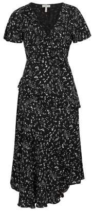 Joie Orita Printed Georgette Midi Dress