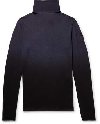 Isabel Benenato Dégradé Virgin Wool Rollneck Sweater