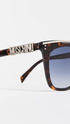 Moschino Oversized Square Sunglasses