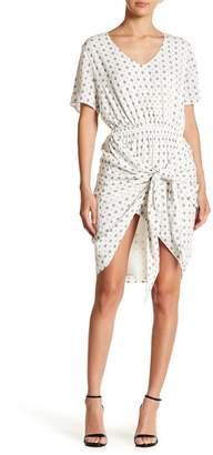 Style Stalker STYLESTALKER Lyra Patterned Wrap Dress
