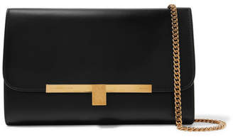 Victoria Beckham Leather Clutch - Black