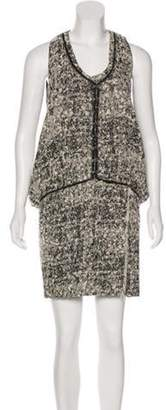 Proenza Schouler Tweed Bouclé Dress black Tweed Bouclé Dress