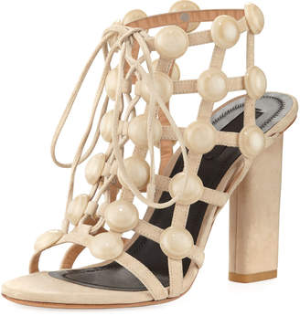 Alexander Wang Rubie Leather Cage Sandal