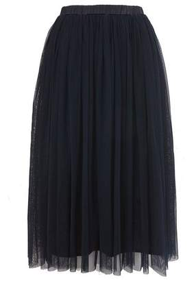 **Tulle Midi Skirt by Lace & Beads