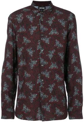 Just Cavalli patterned shirt