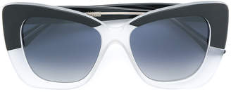 Cutler & Gross bicolour square sunglasses