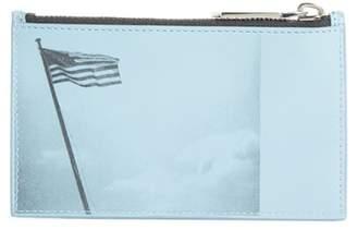 Calvin Klein x Andy Warhol Foundation American Flap Zip Card Holder