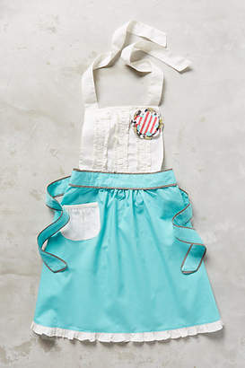 Anthropologie Tea-And-Crumpets Kid's Apron