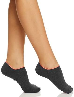 Hue Inspiration Gripper Cushion No-Show Socks