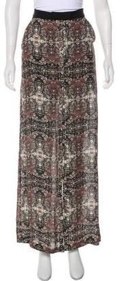 A.L.C. Printed Maxi Skirt