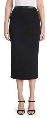 Prada Jersey Knit Pencil Skirt