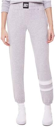 Juicy Couture Fleece Stripe Leg Pant