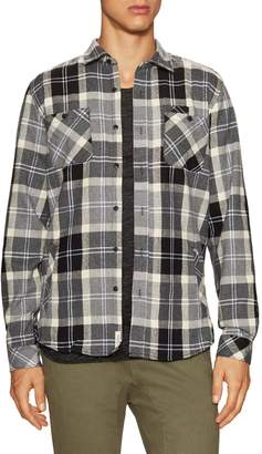 Civil Society Men's Kingston Chest Pockets Flannel Sportshirt