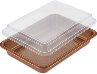Ayesha Curry Home Collection Rectangular Cake Pan & Lid