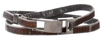 Gucci Velvet Skinny Belt