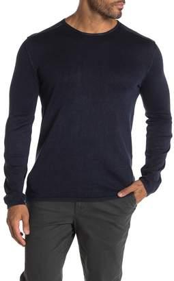 John Varvatos Acid Wash Crew Neck Sweater