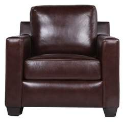 Red Barrel Studio Lynn Leather Armchair