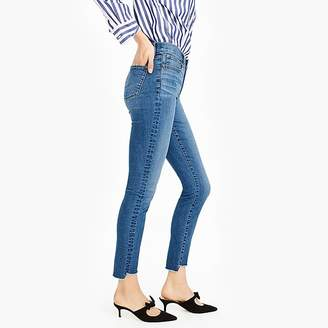"""J.Crew Tall 9"""" high-rise toothpick jean in westville wash"""