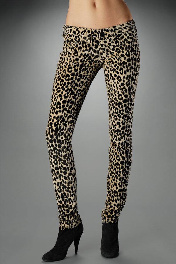Stella Leopard Velveteen - Tan