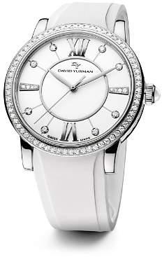 David Yurman Rubber Classic Swiss Quartz Watch, 38mm