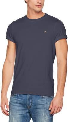Farah Men's Denny Slim Solid Logo T-Shirt