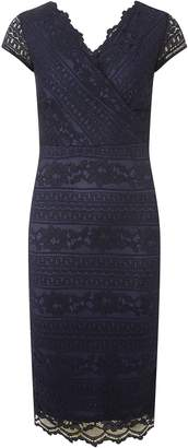 Dorothy Perkins Womens **Scarlett B Navy 'Frank' Lace Bodycon Dress