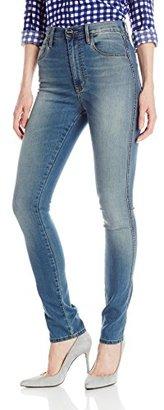 Buffalo David Bitton Women's Vertigo Ultra High Rise Straight Leg Jean $108 thestylecure.com