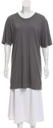 Haider Ackermann Short Sleeve Scoop Neck