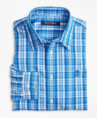 Brooks Brothers (ブルックス ブラザーズ) - BOYS ノンアイロン ブロードクロス GF プラッド スポーツシャツ
