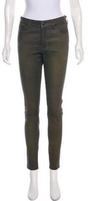 Ralph Lauren Leather Skinny Pants