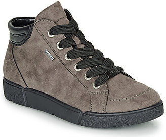 ara 14447-08 women's Shoes (High-top Trainers) in Grey