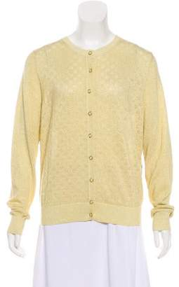 Clements Ribeiro Paneled Button-Up Cardigan