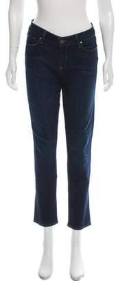 Paige Denim Skyline Ankle Peg Mid-Rise Jeans