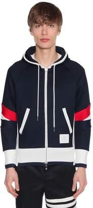 Thom Browne Patchwork Jersey Zip Sweatshirt Hoodie