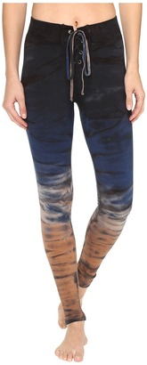 Hard Tail - Lace-Up Leggings Women's Casual Pants $82 thestylecure.com