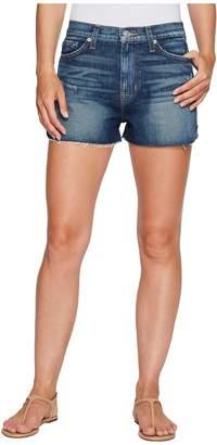 Hudson Dahlia High-Rise Dolphin Denim Shorts in Fortune Women's Shorts