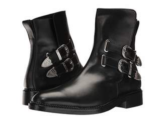 Toga Virilis Leather Western Buckle Boot Men's Dress Pull-on Boots
