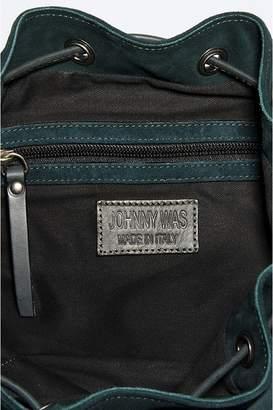 Johnny Was Rosella Italian Suede Bucket Bag