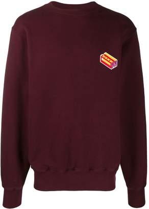 Marni logo patch sweatshirt