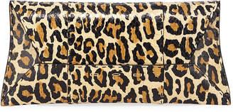 VBH Manila Stretch T Light Leopard Snake Clutch Bag