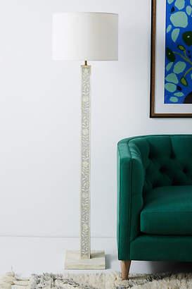 Anthropologie Margary Inlay Floor Lamp