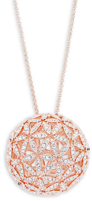 Adriana Orsini Anise Crystal Sphere Necklace