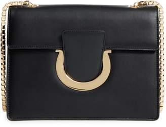 Salvatore Ferragamo Large Thalia Leather Crossbody Bag