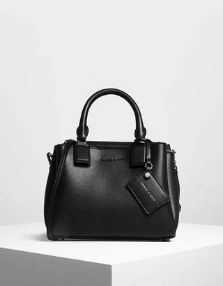 Charles & Keith Top Handle Structured Bag